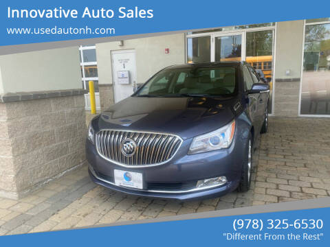 2014 Buick LaCrosse for sale at Innovative Auto Sales in North Hampton NH