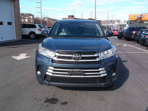 2017 Toyota Highlander for sale at Sharp Auto Center in Worcester MA