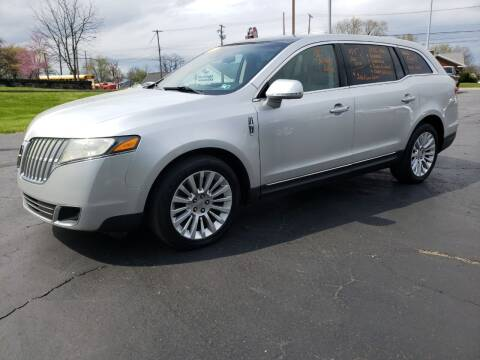 2010 Lincoln MKT for sale at STRUTHER'S AUTO MALL in Austintown OH
