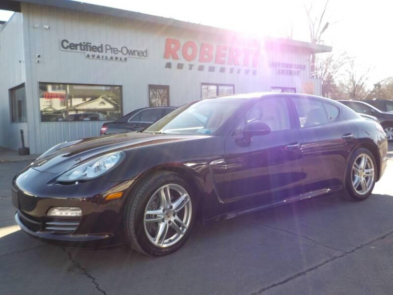 2012 Porsche Panamera for sale at Roberti Automotive in Kingston NY