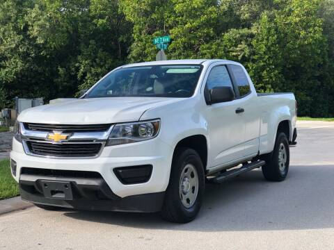2016 Chevrolet Colorado for sale at L G AUTO SALES in Boynton Beach FL