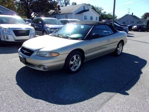 2000 Chrysler Sebring for sale at Jenison Auto Sales in Jenison MI
