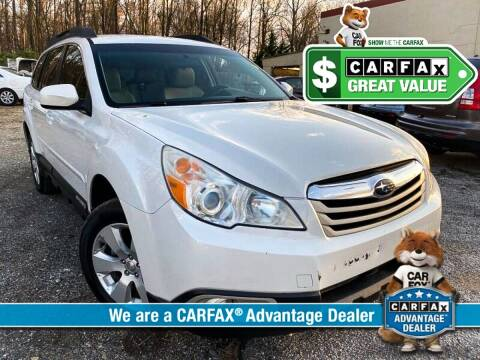 2012 Subaru Outback for sale at High Rated Auto Company in Abingdon MD