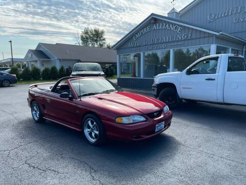 1994 Ford Mustang for sale at Empire Alliance Inc. in West Coxsackie NY
