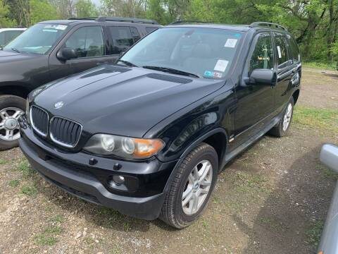 2005 BMW X5 for sale at Trocci's Auto Sales in West Pittsburg PA
