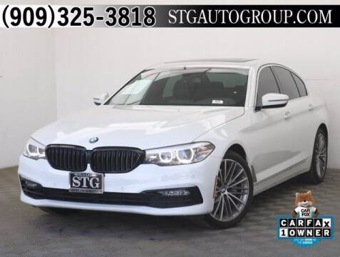 2017 BMW 5 Series for sale at STG Auto Group in Montclair CA