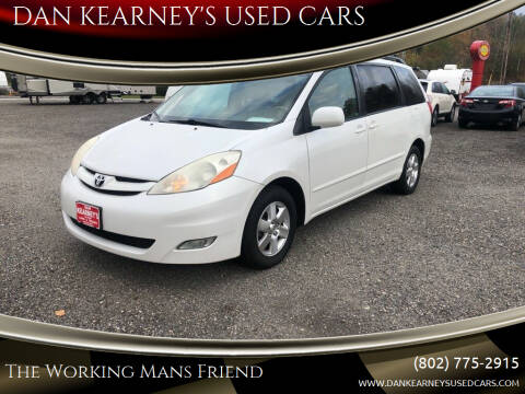 2008 Toyota Sienna for sale at DAN KEARNEY'S USED CARS in Center Rutland VT
