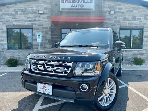 2014 Land Rover LR4 for sale at GREENVILLE AUTO in Greenville WI