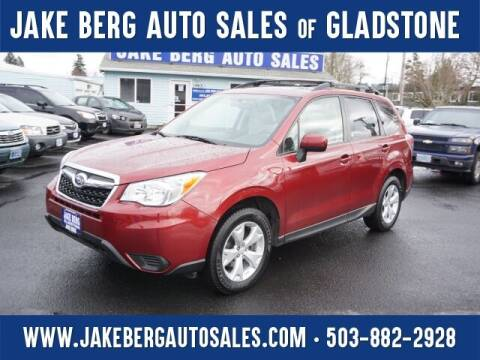 2014 Subaru Forester for sale at Jake Berg Auto Sales in Gladstone OR