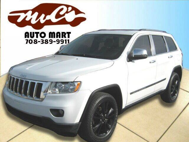 2013 Jeep Grand Cherokee for sale at Mr.C's AutoMart in Midlothian IL