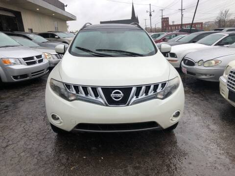 2009 Nissan Murano for sale at Six Brothers Auto Sales in Youngstown OH