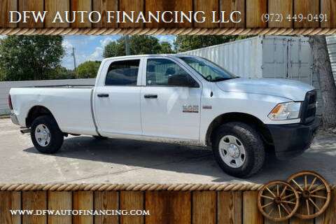 2016 RAM Ram Pickup 3500 for sale at DFW AUTO FINANCING LLC in Dallas TX