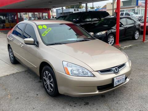 2004 Honda Accord for sale at North County Auto in Oceanside CA