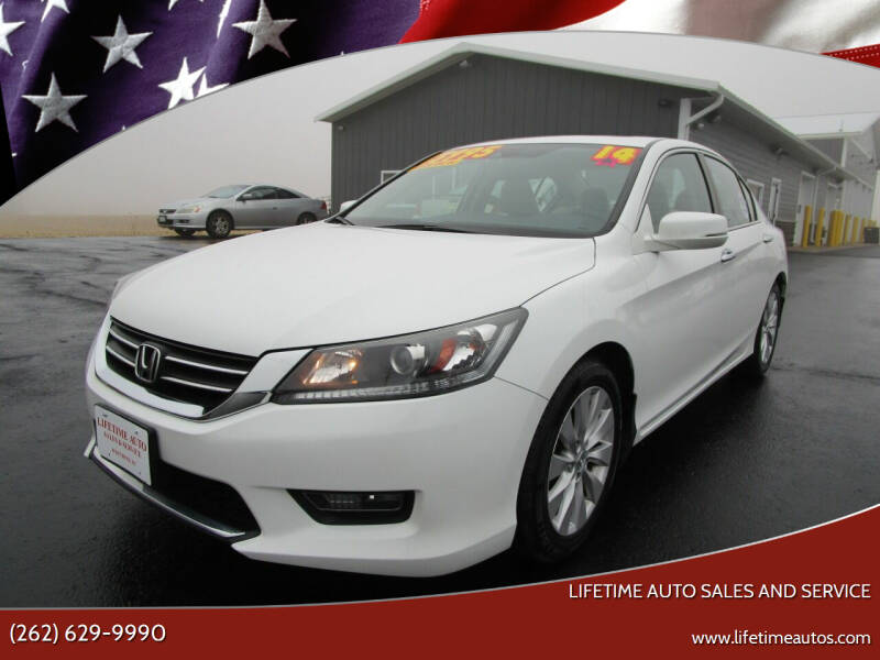 2014 Honda Accord for sale at Lifetime Auto Sales and Service in West Bend WI