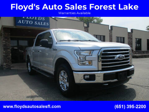 2017 Ford F-150 for sale at Floyd's Auto Sales Forest Lake in Forest Lake MN