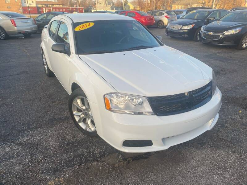 2014 Dodge Avenger for sale at Some Auto Sales in Hammond IN