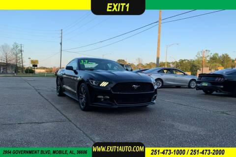 2017 Ford Mustang for sale at Exit 1 Auto in Mobile AL