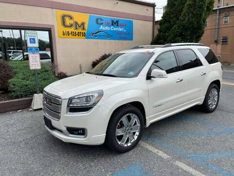 2015 GMC Acadia for sale at Car Mart Auto Center II, LLC in Allentown PA
