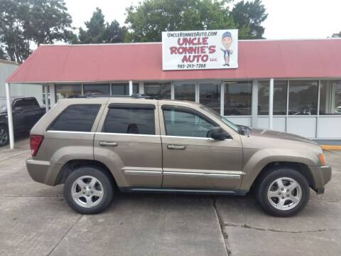 2005 Jeep Grand Cherokee for sale at Uncle Ronnie's Auto LLC in Houma LA