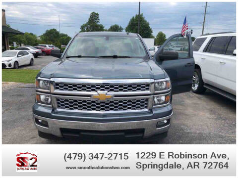2014 Chevrolet Silverado 1500 for sale at Smooth Solutions 2 LLC in Springdale AR