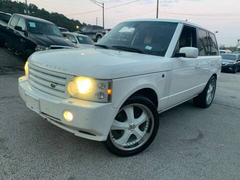 2008 Land Rover Range Rover for sale at Philip Motors Inc in Snellville GA