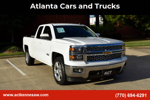 2014 Chevrolet Silverado 1500 for sale at Atlanta Cars and Trucks in Kennesaw GA