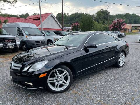 2011 Mercedes-Benz E-Class for sale at Car Online in Roswell GA