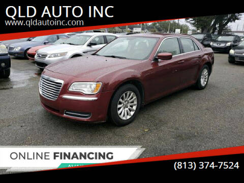2013 Chrysler 300 for sale at QLD AUTO INC in Tampa FL