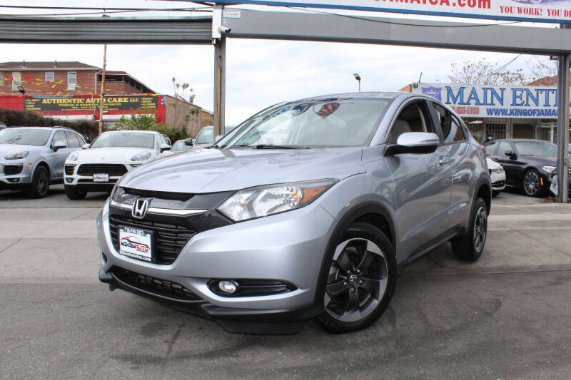 2018 Honda HR-V for sale at MIKEY AUTO INC in Hollis NY