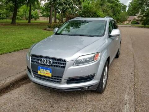 2008 Audi Q7 for sale at Amazon Autos in Houston TX