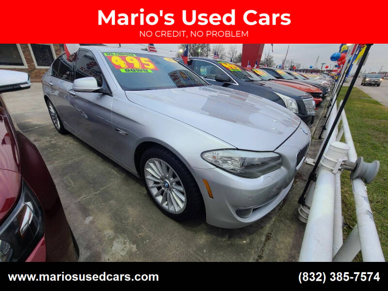 2011 BMW 5 Series for sale at Mario's Used Cars - South Houston Location in South Houston TX