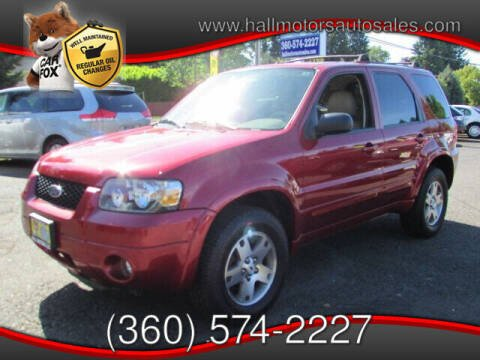 2005 Ford Escape for sale at Hall Motors LLC in Vancouver WA