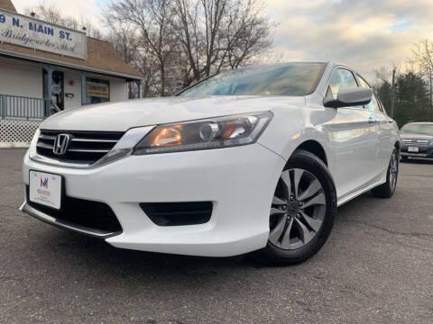 2014 Honda Accord for sale at Mega Motors in West Bridgewater MA