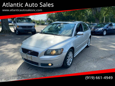 2006 Volvo S40 for sale at Atlantic Auto Sales in Garner NC