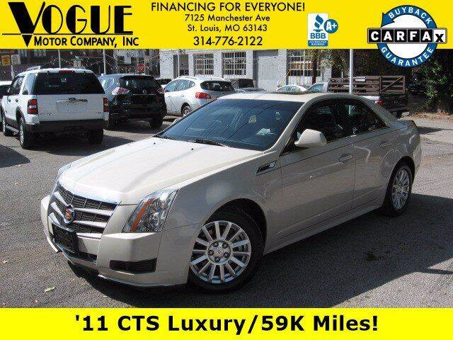 2011 Cadillac CTS for sale at Vogue Motor Company Inc in Saint Louis MO