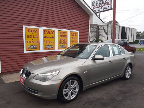 2010 BMW 5 Series for sale at Mack's Autoworld in Toledo OH