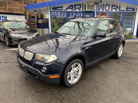 2007 BMW X3 for sale at Car World Inc in Arlington VA
