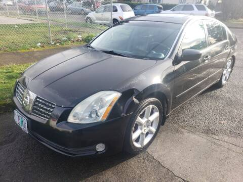 2006 Nissan Maxima for sale at KC Cars Inc. in Portland OR