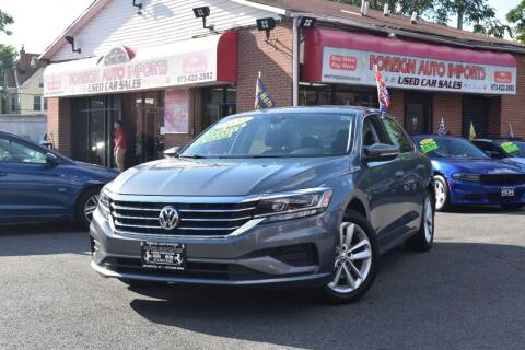 2020 Volkswagen Passat for sale at Foreign Auto Imports in Irvington NJ