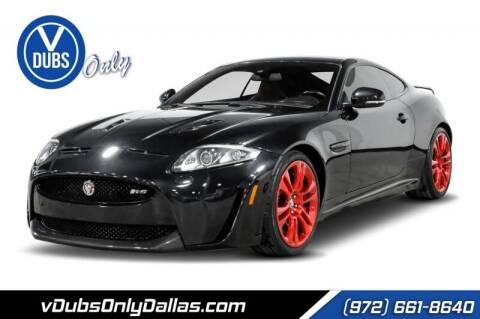 2012 Jaguar XK for sale at VDUBS ONLY in Dallas TX