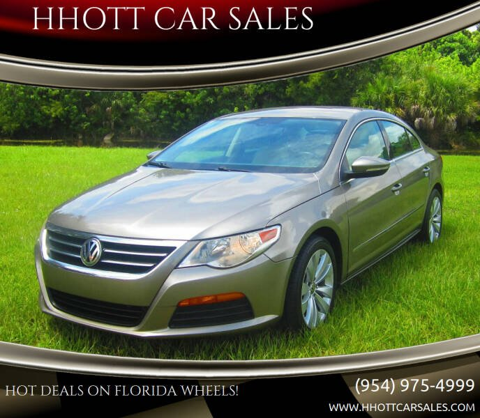 2012 Volkswagen CC for sale at HHOTT CAR SALES in Deerfield Beach FL