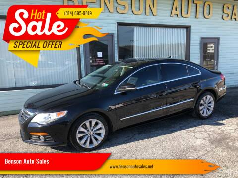 2010 Volkswagen CC for sale at Superior Auto Sales in Duncansville PA