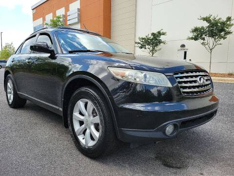 2004 Infiniti FX35 for sale at ELAN AUTOMOTIVE GROUP in Buford GA