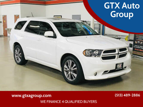 2013 Dodge Durango for sale at GTX Auto Group in West Chester OH