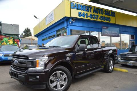 2018 Ford F-150 for sale at Earnest Auto Sales in Roseburg OR