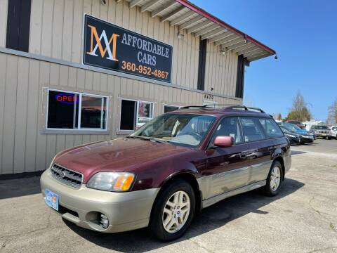 2001 Subaru Outback for sale at M & A Affordable Cars in Vancouver WA