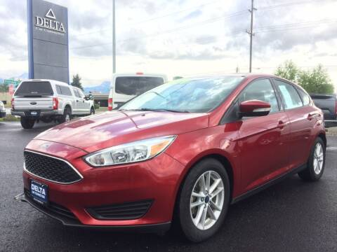 2017 Ford Focus for sale at Delta Car Connection LLC in Anchorage AK