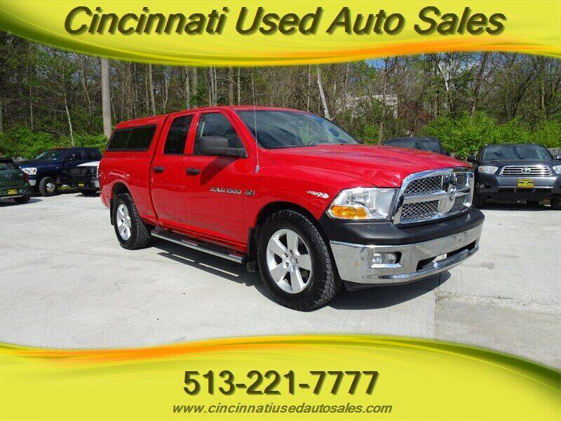 2012 RAM Ram Pickup 1500 for sale at Cincinnati Used Auto Sales in Cincinnati OH