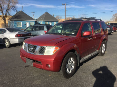 2006 Nissan Pathfinder for sale at Creekside Auto Sales in Pocatello ID