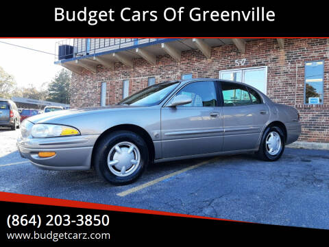 2000 Buick LeSabre for sale at Budget Cars Of Greenville in Greenville SC